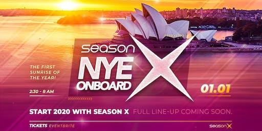 Season X NYE Onboard - 2020