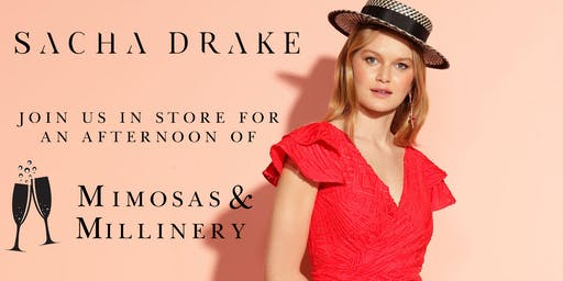 Mimosa's & Millinery - SACHA DRAKE - Westfield Carindale