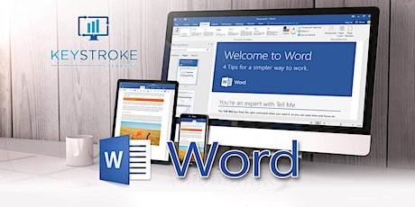 Microsoft Word Intermediate tickets