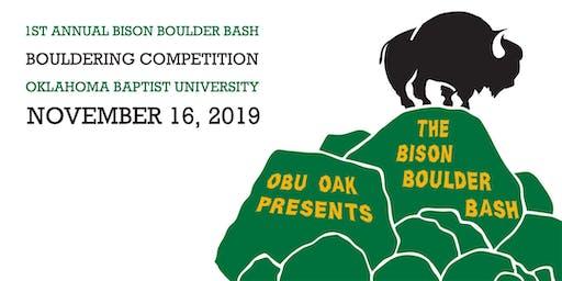 2019 OBU Bison Boulder Bash