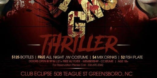 """""""THRILLER"""" #GHOE COSTUME PARTY !!"""