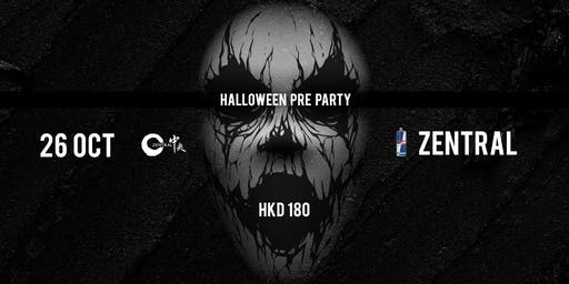 *Limited*Zentral Halloween Pre-Party 2019 Early Bird