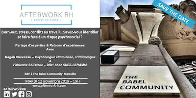 AfterWorkRH Aix-Marseille - 12/11/2019 - Risques Psychosociaux