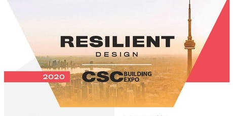 2020 CSC BUILDING EXPO - Attendee registration tickets