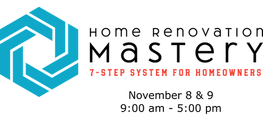 HOME RENOVATION MASTERY 2-Day Workshop by Charmaine Lang Design Inc.