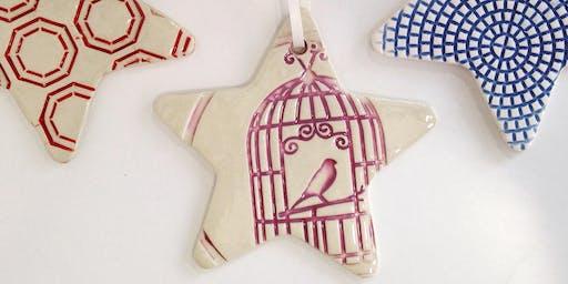 Ornament/Coaster Glazing Workshop