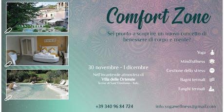 """Yoga Retreat """"Comfort Zone"""" biglietti"""