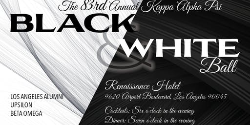 The 83rd Annual Kappa Alpha Psi Black & White Ball hosted by L.A Alumni