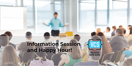 Vancouver Coding School: Free Info Session & Happy Hour tickets