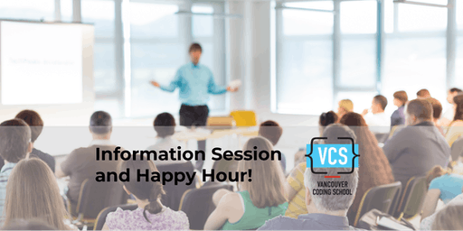 Vancouver Coding School: Free Info Session & Happy Hour
