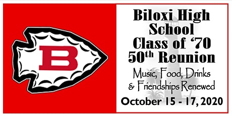Biloxi High School Class of '70 - 50th Class Reunion tickets