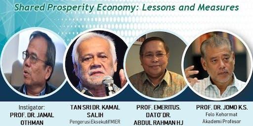Wacana Bitara: Shared Prosperity Economy: Lessons and Measure