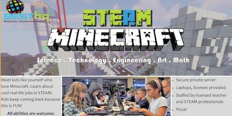 STEAM Minecraft Night (12/13) at BESThq tickets