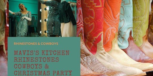 Rhinestones & Cowboys Christmas Party