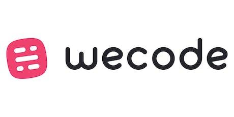 WeCode 2020 entradas