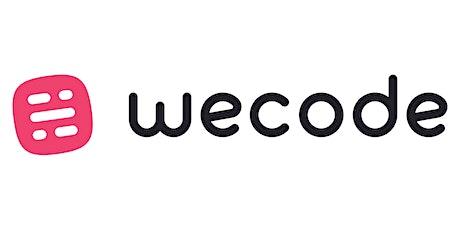 WeCode 2020 tickets