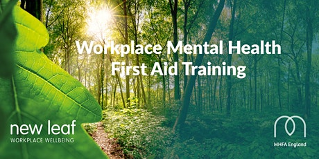 SOLD OUT - Mental Health First Aid Training 2 Day Accredited Course Taunton  tickets