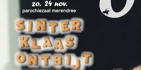 Sinterklaas ontbijt tickets