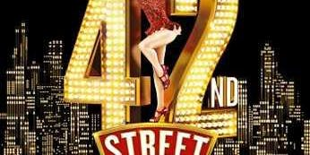 Pi Singles Cinema trip to see 42nd Street