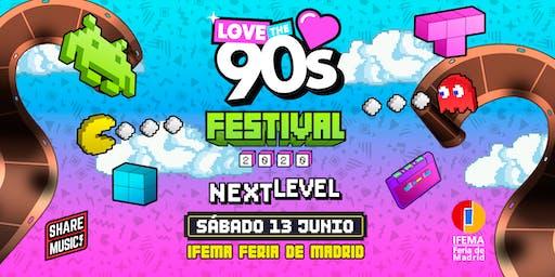 Love the 90's Festival en Madrid
