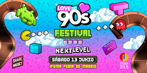 Love the 90's Festival en Madrid