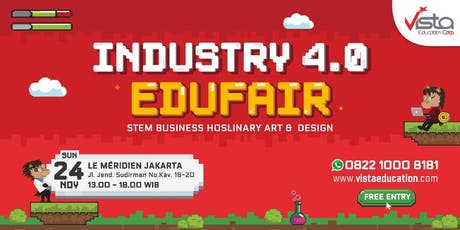 Industry 4.0 Education Fair 2019 Jakarta tickets