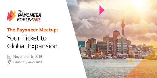 The Payoneer Meetup - Your Ticket to Global Expansion