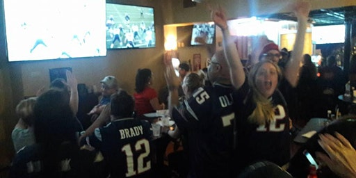 New England Patriots Nation New Orleans French Quarter Watch Party