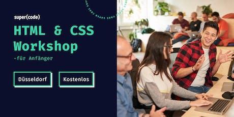 HTML & CSS Workshop –für Anfänger in Düsseldorf Tickets