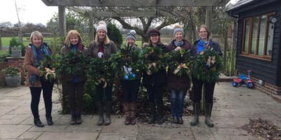 Festive Wreath Making - Kirdford