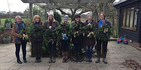 Festive Wreath Making - Kirdford tickets