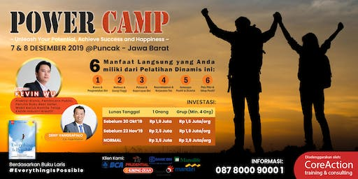 POWER CAMP ~ Unleash Your Potential, Achieve Success & Happiness