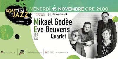 Mikael Godèe-Eve Beuvens 4et - Rosetum Jazz Festival #2