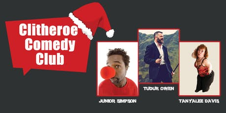 Clitheroe Comedy Club: Christmas Capers tickets