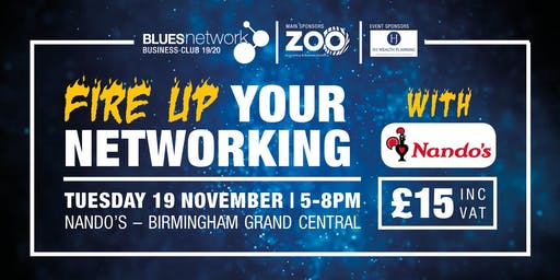 Blues Network Business Club - Nando's Event