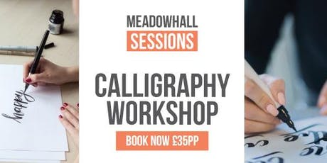 Festive  Calligraphy Sessions Meadowhall - Brush lettering tickets