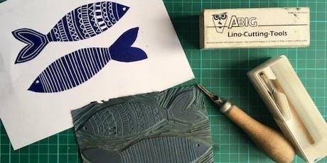 Lino Cut Workshop tickets