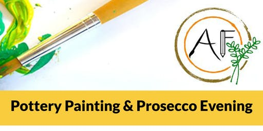 Pottery Painting and Prosecco