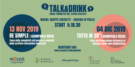 Talk&Drink | Show Formativi del Vivaio Digitale biglietti