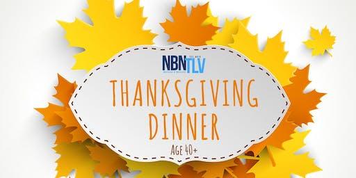 Thanksgiving Dinner for ages 40+