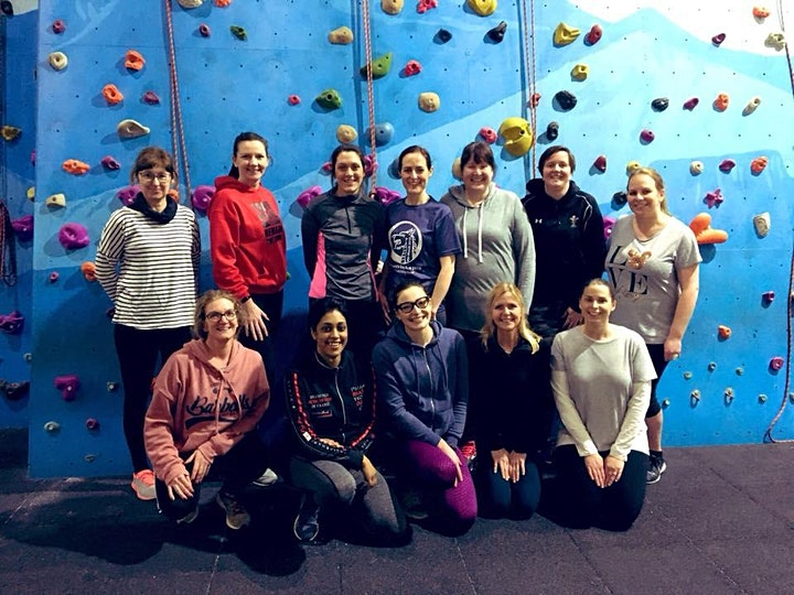 Women's Indoor Climbing Trial Session image
