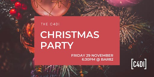 C4DI Christmas Party 2019