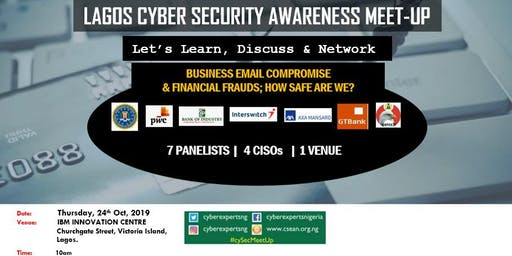 Cyber Security Meet-Up Lagos [October 2019]