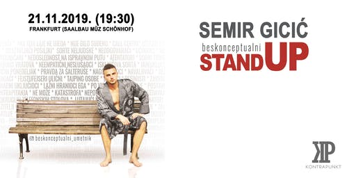 Semir Gicić: Beskonceptualni StandUp