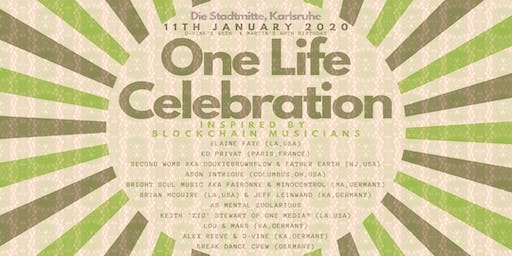 """One Life Celebration"" - Inspired by ""Blockchain Musicians"""
