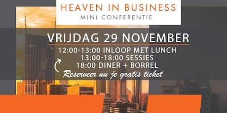 Heaven in Business - Mini Conferentie tickets