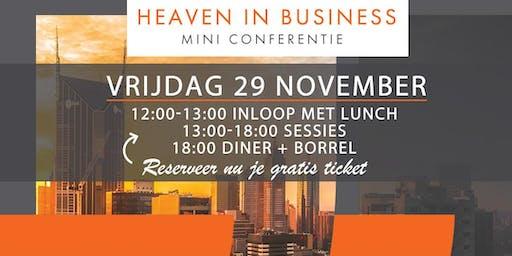 Heaven in Business - Mini Conferentie
