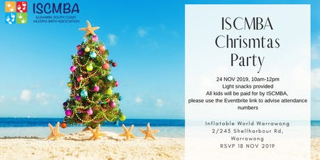 ISCMBA Christmas Party tickets