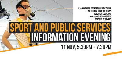 Sport and Public Services Information Evening