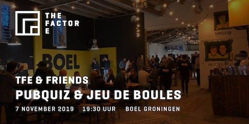 TFE & Friends | Pub Quiz en Jeu de Boules